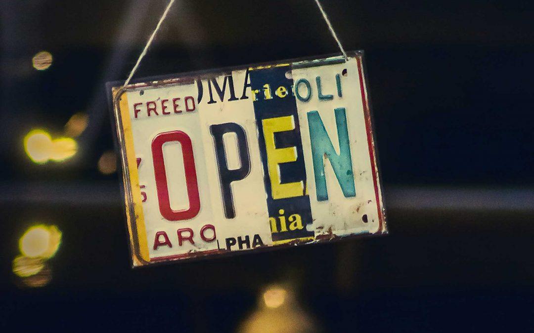 Nyitva vagyunk